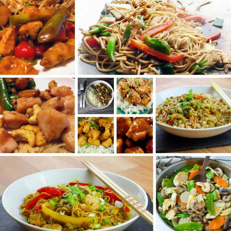 Recipes for Chinese Main Dishes with Chicken