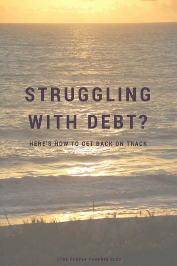 Struggling with debt? Here's how to get back on track