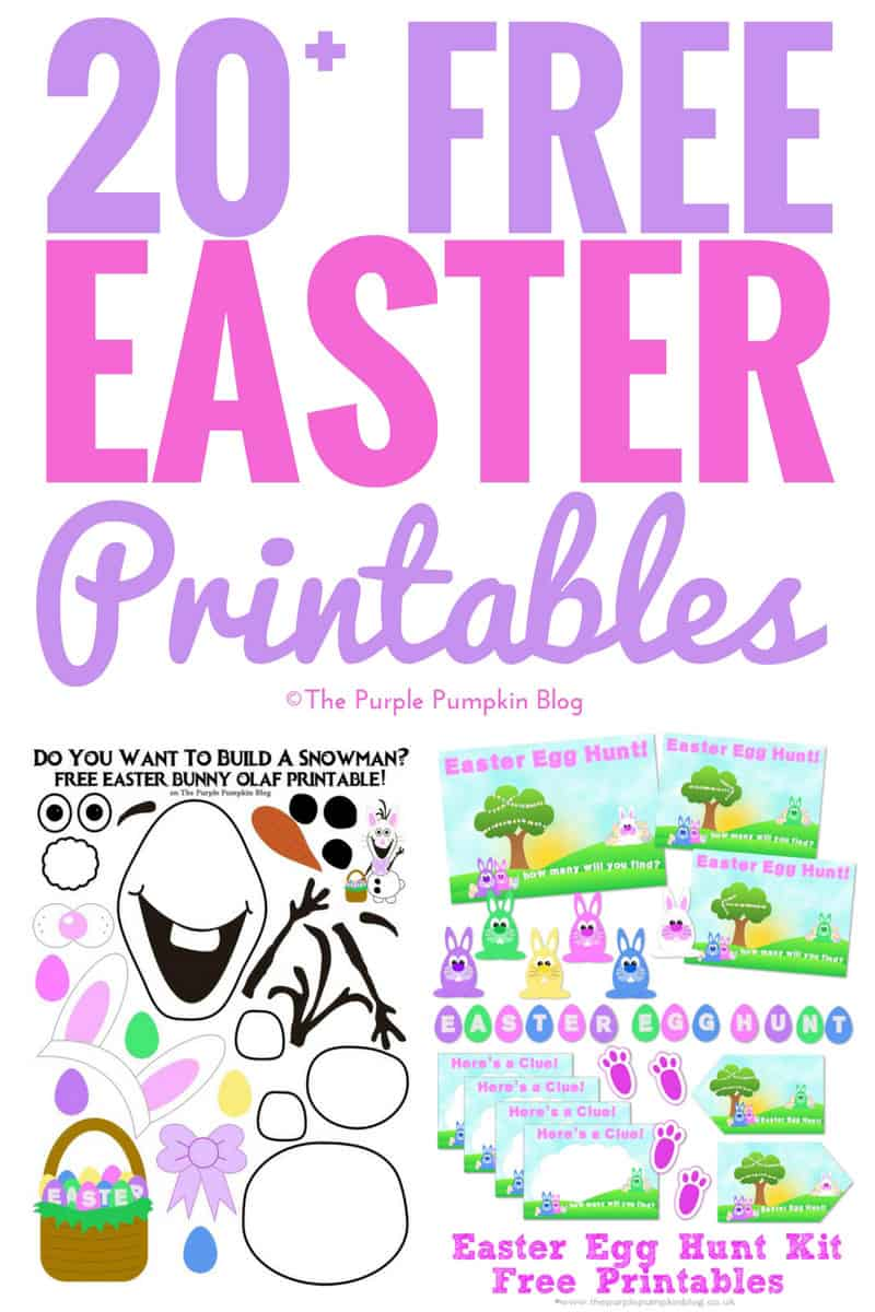 20+ Awesome Free Easter Printables to Print at Home!