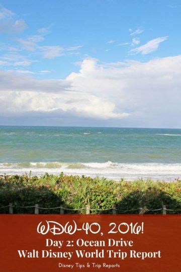 Day 2: Ocean Drive / WDW-40, 2016