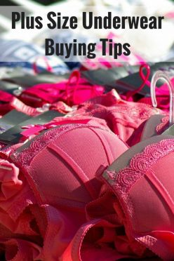 Plus Size Underwear Buying Tips