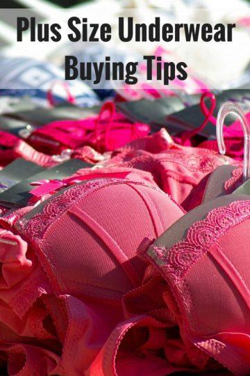 Plus Size Underwear Buying Tips