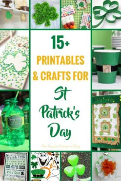 15 Printables & Crafts for St. Patrick's Day. Celebrate this Irish Saint's Day with these fun to make craft ideas and free printables!