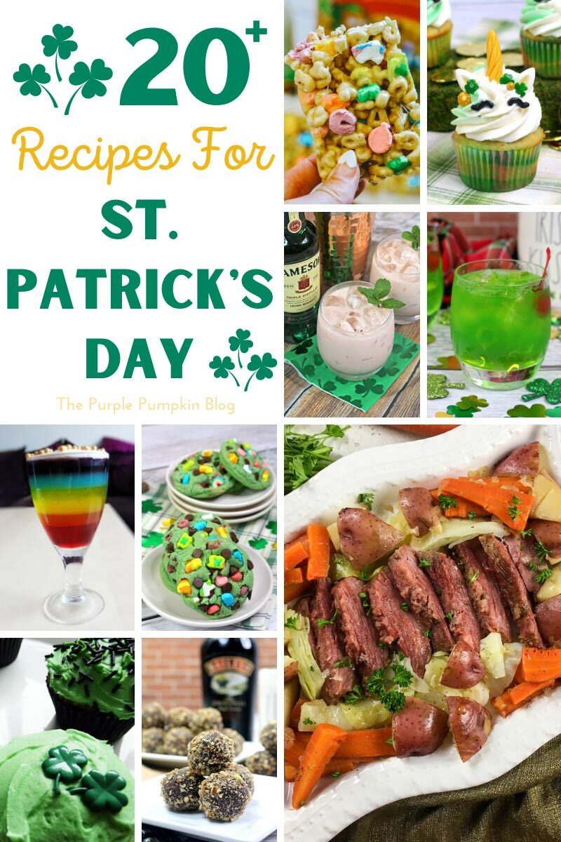 20+ Recipes for St. Patrick's Day