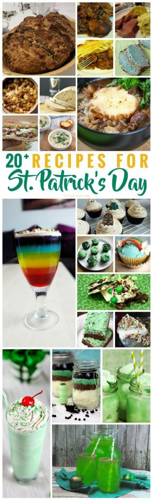 20 Recipes for St. Patrick's Day