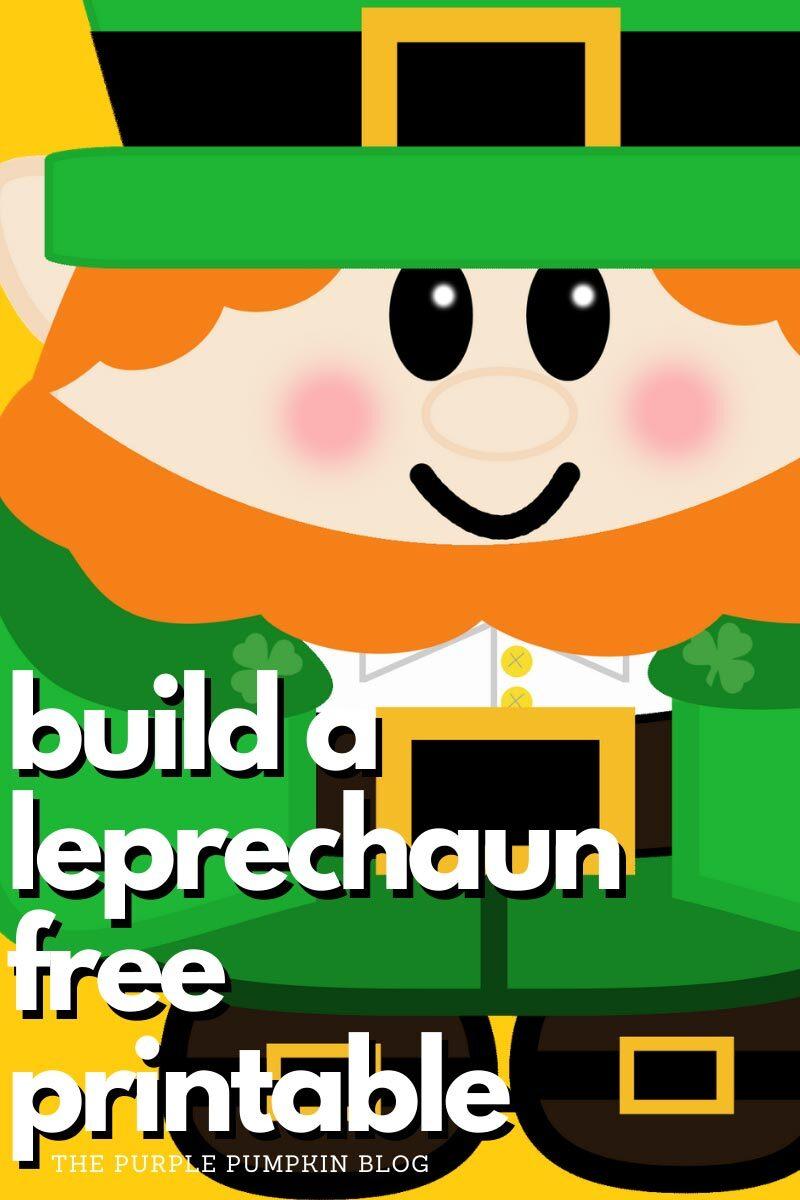 Build A Leprechaun Free Printable