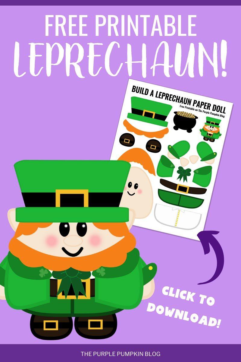 Free Printable Leprechaun