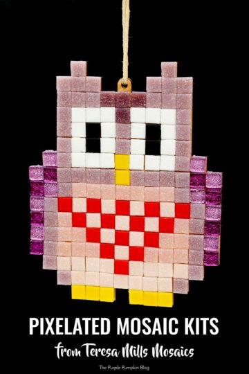 Pixelated Mosaic Kits from Teresa MIlls Mosaics