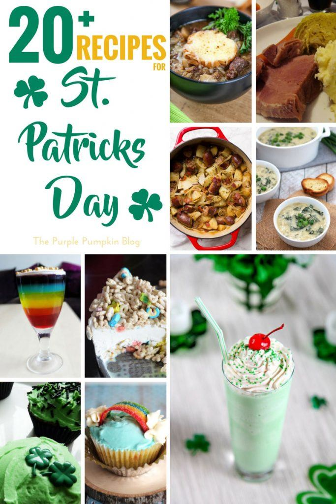 Recipes for St. Patrick's Day