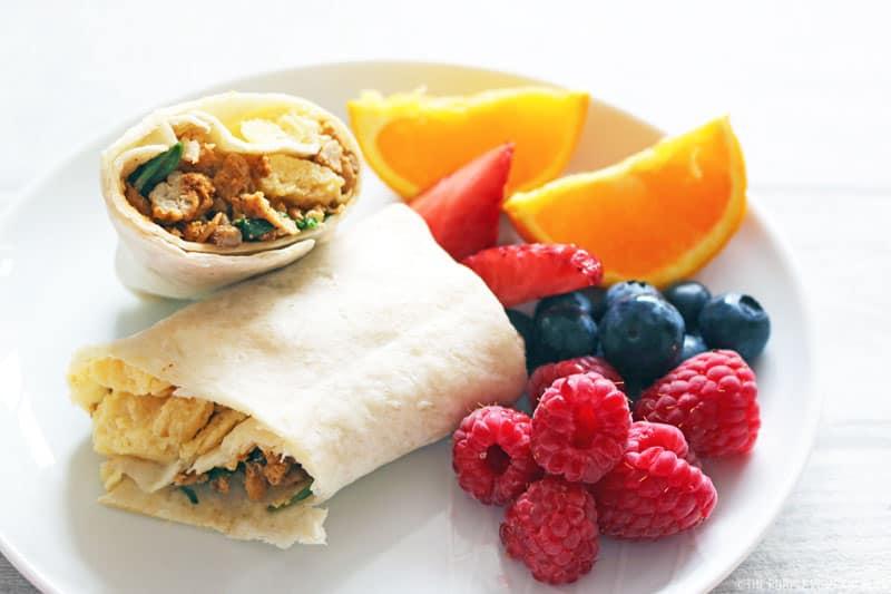 Make & Freeze Ahead Breakfast Burritos
