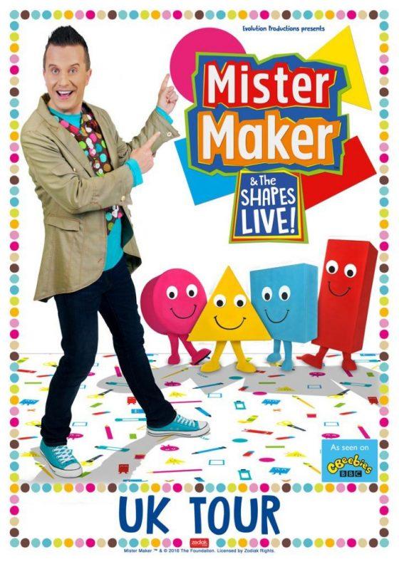 Mister Maker & The Shapes Live UK Tour