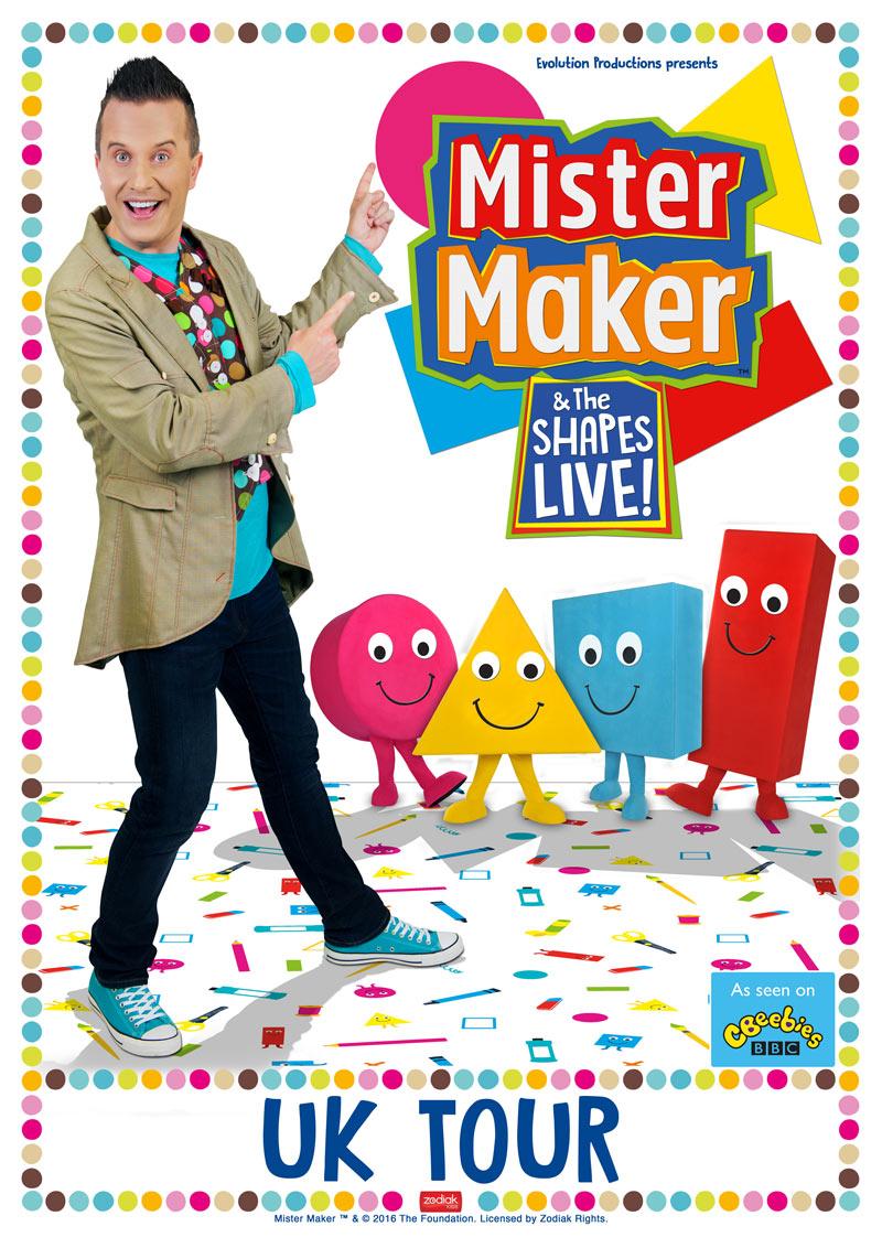 Mister Maker Christmas Crafts