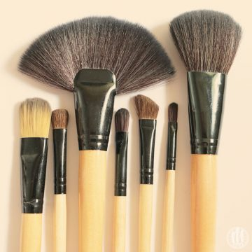 Project 365 - 2017 - Day 105 - Make-up brushes