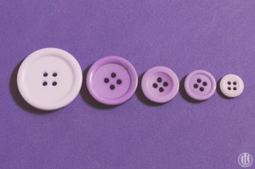 Project 365 - 2017 - Day 143 - Purple Buttons