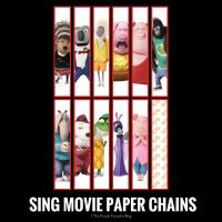 SING Movie Paper Chains