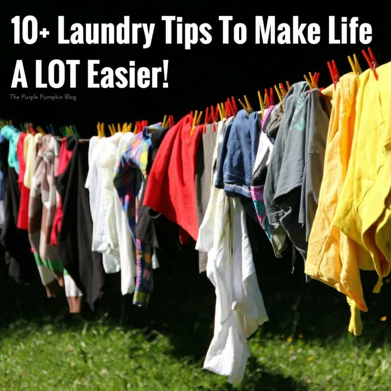 10+ Laundry Tips To Make Life A LOT Easier