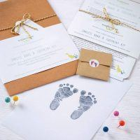 Baby Hand & Foot Inkless Print Kit