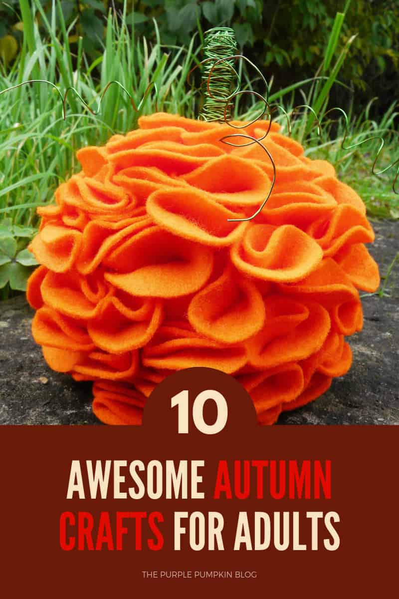 10 awesome autumn crafts for adults