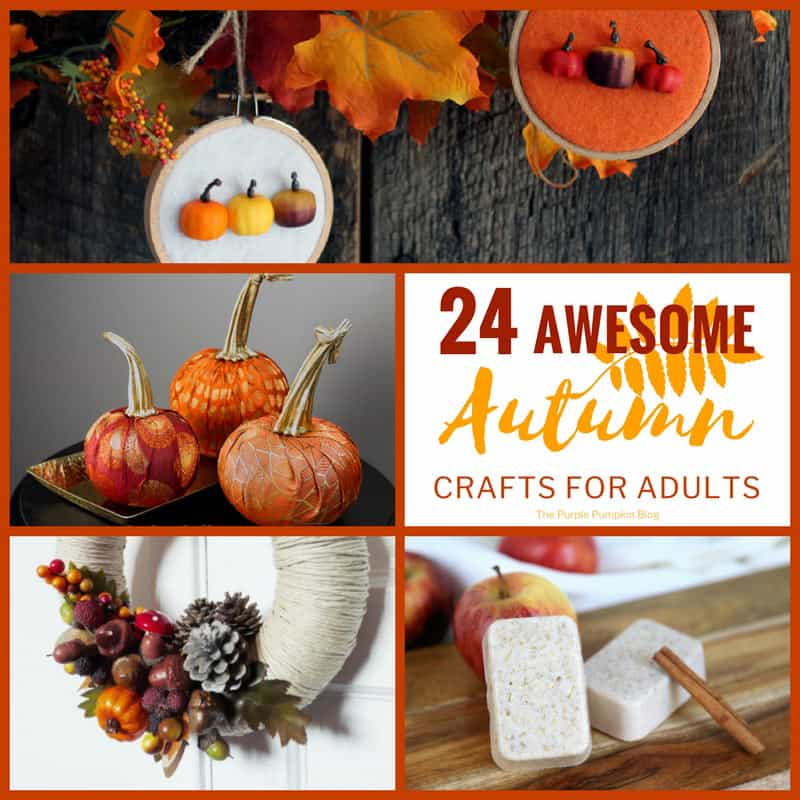 awesome craft ideas for adults 24 awesome autumn crafts for adults 5916
