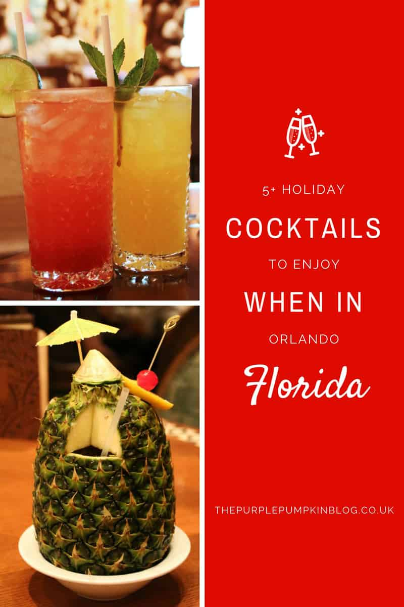5 holiday cocktails to enjoy when in orlando florida for Cocktail florida