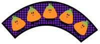 Halloween Cupcake Wrappers