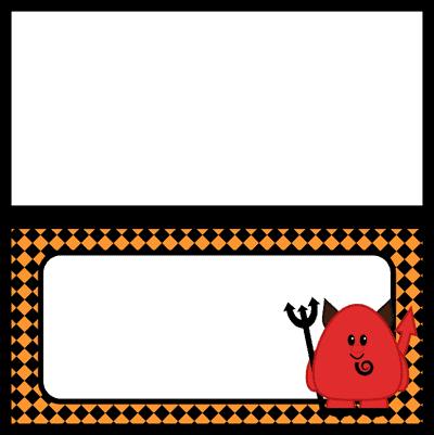 Halloween DIY Food Labels Printable Food Tags by ... |Halloween Party Food Labels