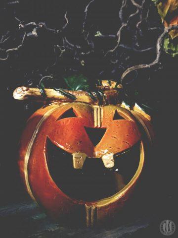 Project 365 - 2017 - Day 285 - Ceramic Pumpkin