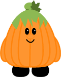 Cute Pumpkin by The Purple Pumpkin Blog