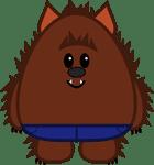 Cute Werewolf by The Purple Pumpkin Blog