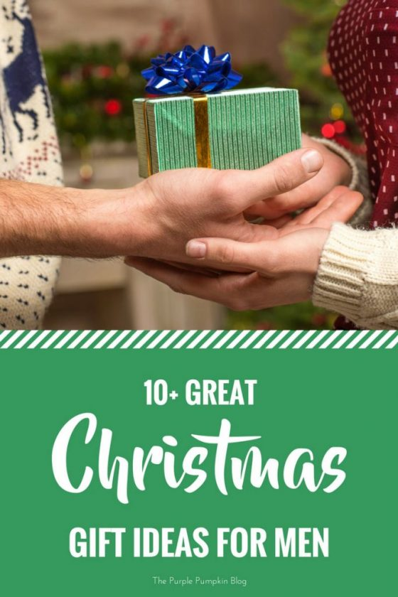 10+ Great Christmas Gift Ideas for Men. Not sure what to buy for the special men in your life? Check out this Christmas gift guide for ideas and inspiration!