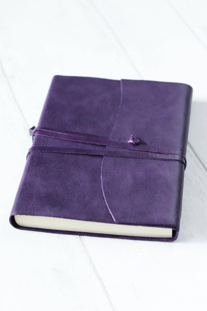 Amalfi Medium Leather Journal
