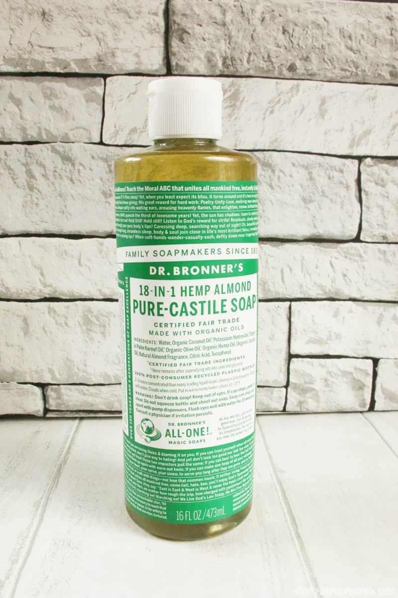 Dr. Bronner's Almond Liquid Soap