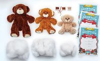 Make Your Own Teddy Bear Soft Toy Family
