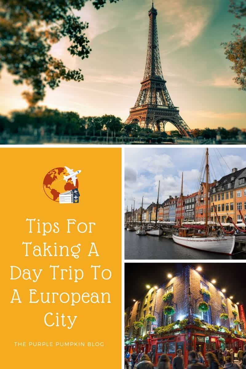 Have you thought about taking a day trip to a European city? So many can be reached from London in under 2 hours! Read my tips and guide for 10 cities that you can visit for the day!