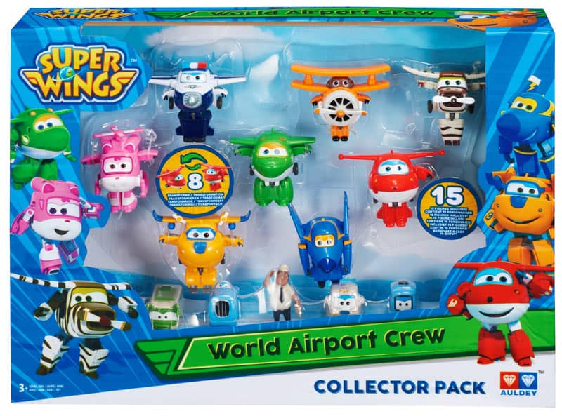 Super Wings World Airport Flight Crew Figure Collector Pack