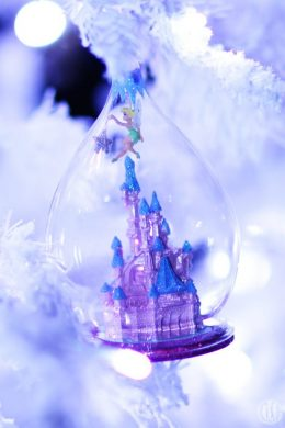 Project 365 - 2017 - Day 336 - Disney ornament with Tinkerbell and Sleeping Beauty Castle