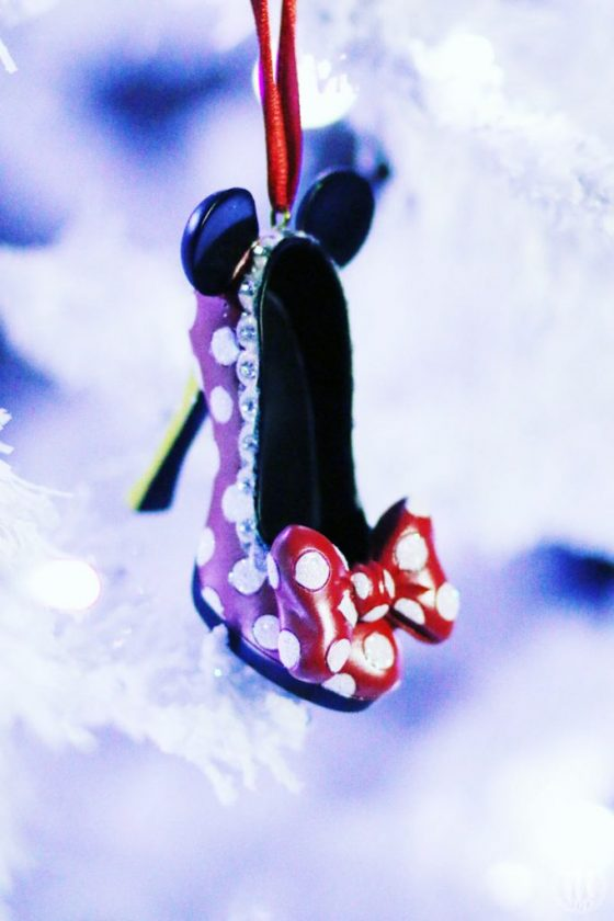 Project 365 - 2017 - Day 337 - Minnie Mouse Shoe Ornament