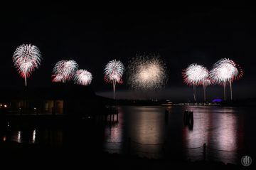 Project 365 - 2017 - Day 351 - Disney Fireworks - Holiday Wishes