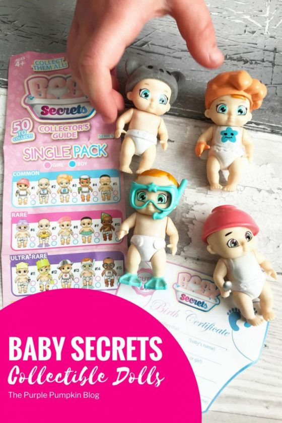 BABY Secrets Collectible Dolls