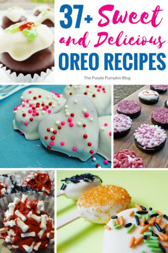 A roundup of 37+ Sweet & Delicious Oreo Recipes for you to try out! These chocolate sandwich cookies are famous the world over, and are said to be the world's favourite cookie! If you love Oreos, then I think you're going to love these recipes too! Includes truffles, no bake treats, pies, milkshakes and more!