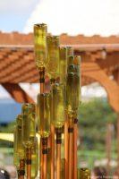 Wine Bottle Installation