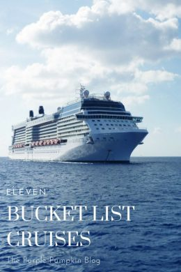 These 11 bucket list cruises will definitely add fuel to your wanderlust fire! See the world by sea and by land. What better way to check off destinations from your bucket list that by taking a cruise? By the time you've read this list, you'll be wanting to cruise as soon as possible!