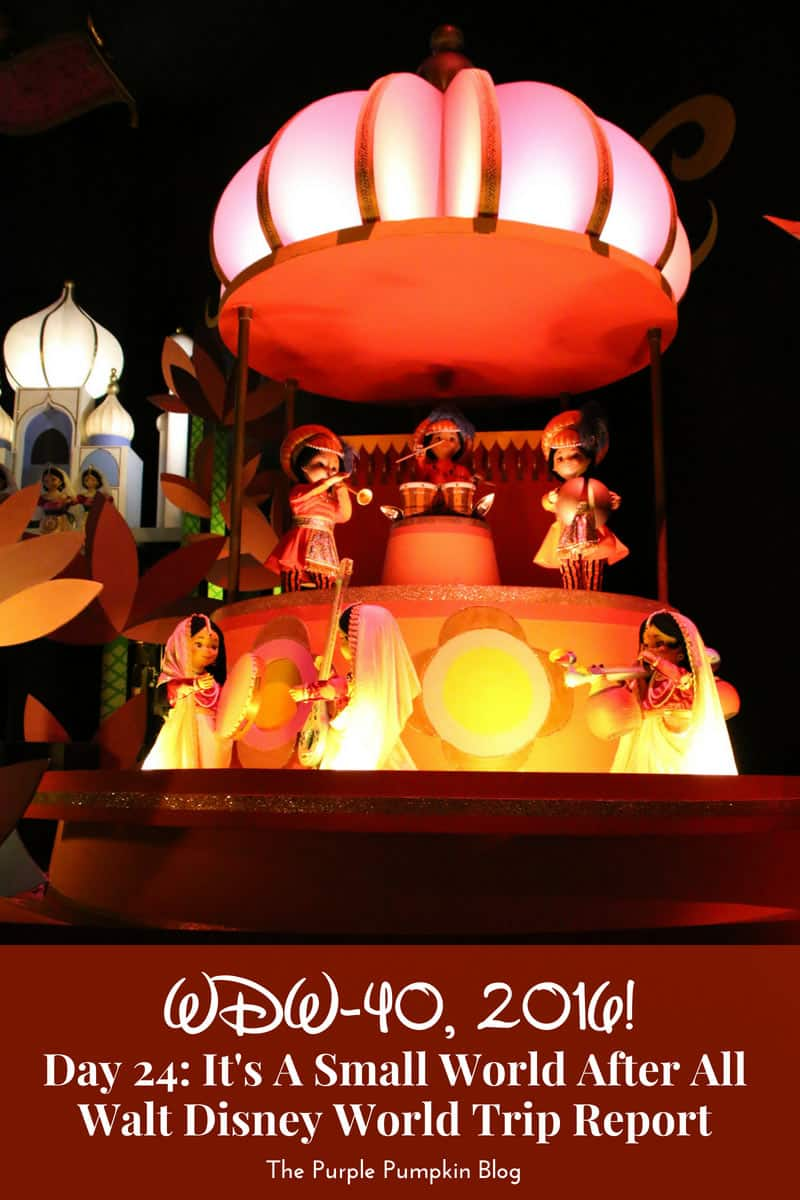 Day 24: It's A Small World After All / WDW-40, 2016