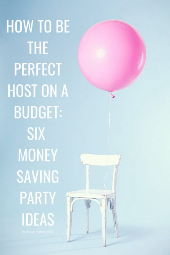 Are you an aspiring host or hostess? Have you put off parties because it seemed like too much time, effort and money? Whether it's because of the budget or the work that it takes to host a get-together, Here are 6 money saving party ideas.