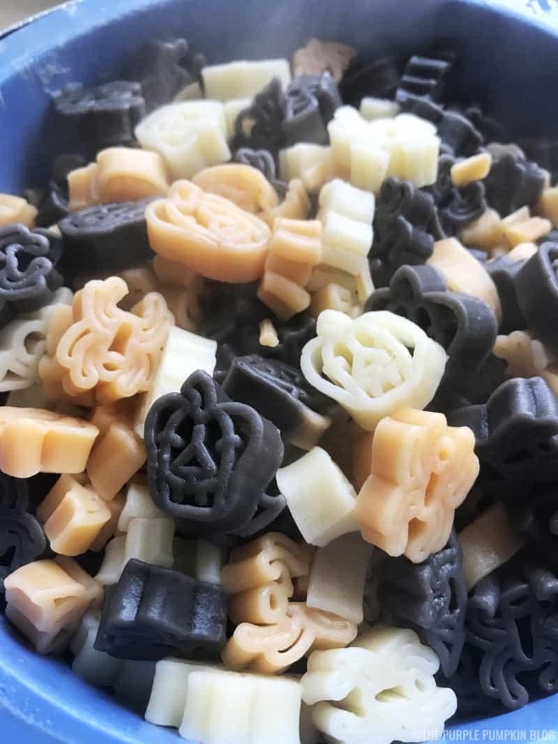 Halloween Pasta Shapes