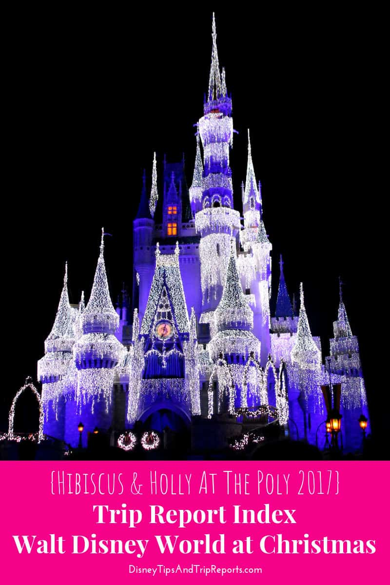Hibiscus & Holly At The Poly Disney Trip Report 2017
