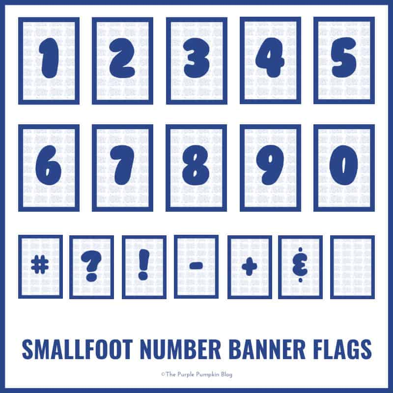 Smallfoot - Number-Banner