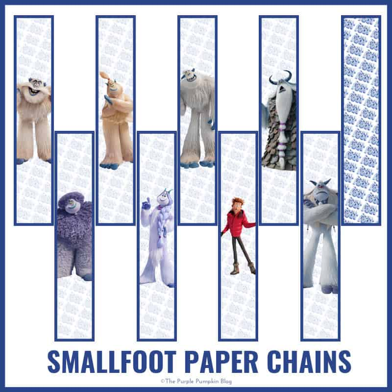 Smallfoot Paper Chains