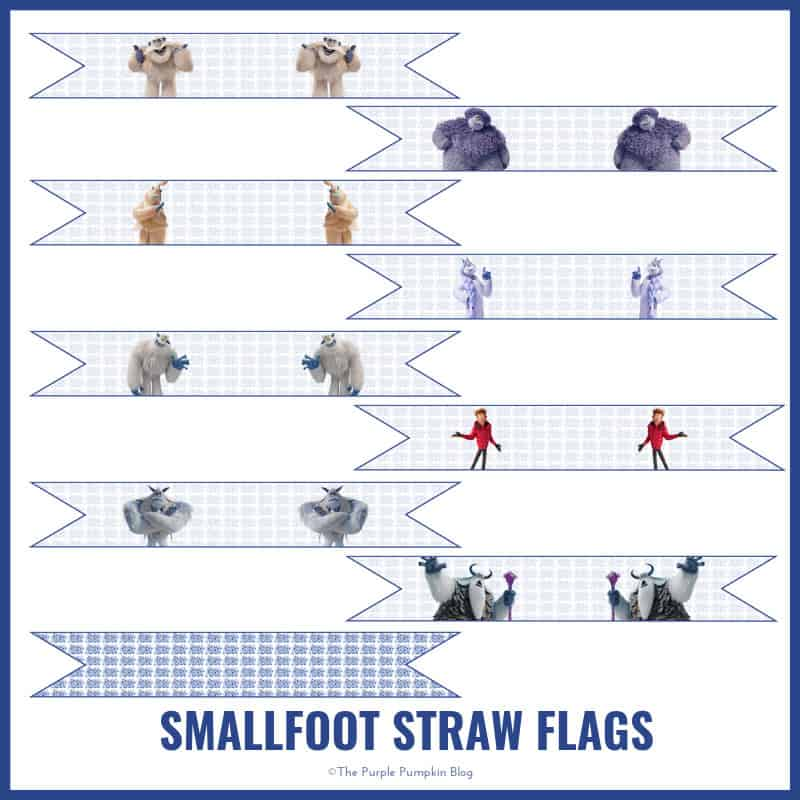 Smallfoot - Straw Flags