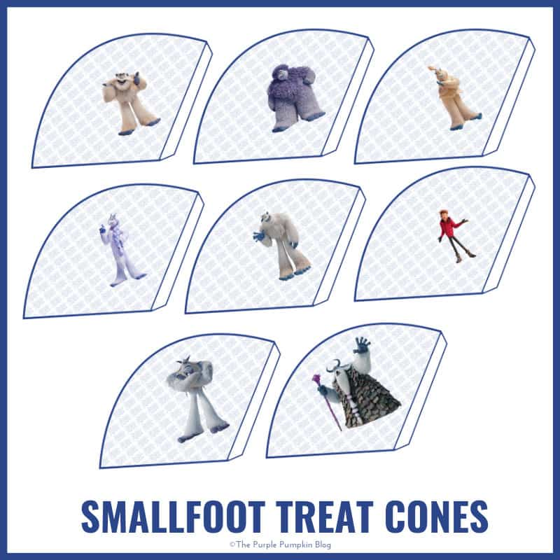 Smallfoot Treat Cones